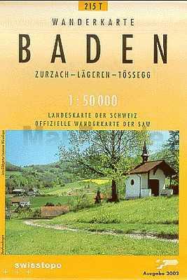 Baden turistatérkép (T 215) - Landestopographie