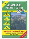 Nyugati-Tátra, Podbanské, Zverovka turistatérkép (TM 3) - VKÚ