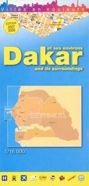 Dakar térkép - Laure Kane