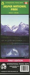 Jasper Nemzeti Park (Alberta) térkép - ITM