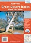 Australia's Great Desert Tracks: South East térkép - Hema