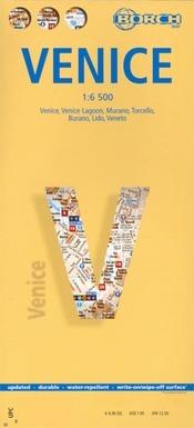 Velence térkép - Borch