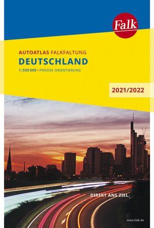 Németország Falk autóatlasz 2009-10