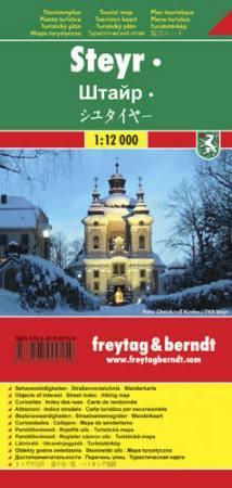 Steyr várostérkép - Freytag-Berndt