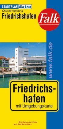 Friedrichshafen Extra várostérkép - Falk