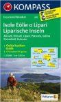 Eolíe (Lipari)-szigetek turistatérkép (WK 693) - Kompass