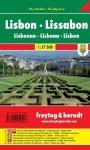 Lisszabon zsebtérkép - Freytag-Berndt