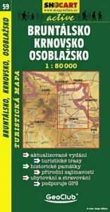 Bruntálsko, Krnovsko, Osoblažsko turistatérkép - SHOCart 59