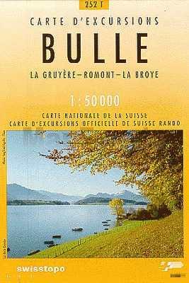Bulle - Landestopographie T 252