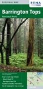 Barrington Tops National Park térkép - Hema