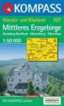 WK 807 Erzgebirge, Mittleres - KOMPASS