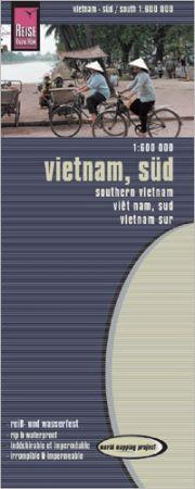 Vietnam (déli rész) térkép - Reise Know-How