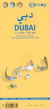 Dubai térkép - Borch