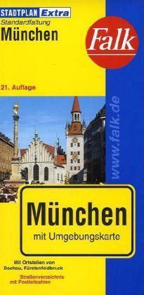 München Extra várostérkép - Falk