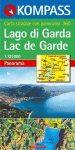 Garda-tó panorámatérkép - Kompass AK 360