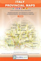 Cagliari (Medio Campidano / Carbonia-Iglesias) Province térkép (No104) - LAC