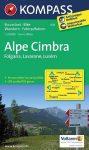 Alpe Cimbra, hiking map (WK 631) - Kompass