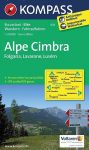 Alpe Cimbra turistatérkép (WK 631) - Kompass