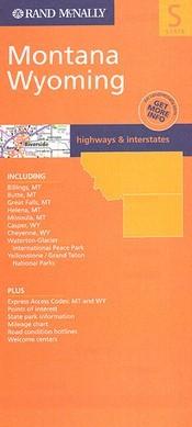 Montana & Wyoming térkép - Rand McNally
