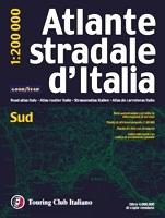 Italia - Sud autóatlasz - TCI
