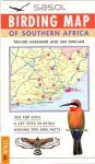 Birding Map of Southern Africa - Struik Book