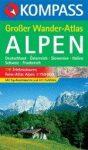 Alpen Großer Wander Atlas - Kompass K 604