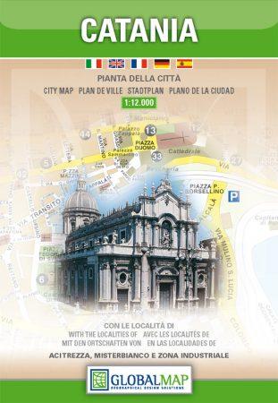 Catania térkép - LAC