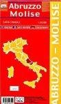 Abruzzo / Molise autótérkép - LAC