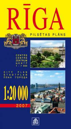 Riga térkép - Jana Seta