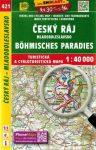 Cseh-Paradicsom, Mladá Boleslav környéke turistatérkép (421) - SHOCart