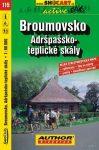 Broumovsko, Adršpašsko-teplické skály kerékpártérkép (115) - ShoCart