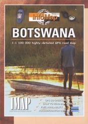 Botswana térkép - IMAP