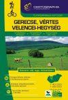 Gerecse, Vértes, Velencei-hegység turistaatlasz - Cartographia