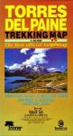 Torres del Paine trekking térkép - Zagier y Urruty
