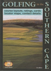 Golfing in the Southern Cape térkép - Jabedi Mapping