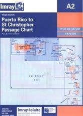 Puerto Rico to the Virgin and Leeward Islands Chart A2 - Imray