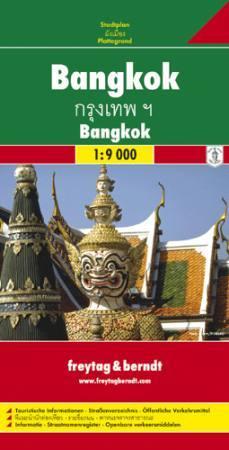 Bangkok várostérkép - Freytag-Berndt