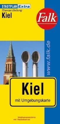Kiel Extra várostérkép - Falk