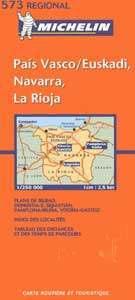 Baszkföld, Navarra, La Rioja - Michelin 573