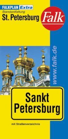 Szentpétervár várostérkép - Falk