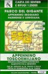Parco del Gigante - Appenninno Reggiano Parmense - Lunigiana térkép (No 14/16) - Multigraphic
