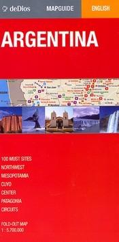 Argentina térkép - de Dios Editores