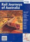 Ausztrália vasútvonalai térkép - Hema