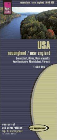 USA: Új-Anglia (5) térkép - Reise Know-How