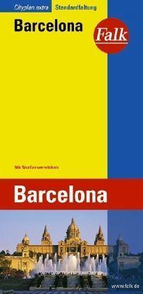 Barcelona várostérkép - Falk