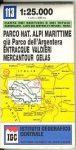 Argentera Regional Park - Entracque - Valdieri térkép (No 113) - IGC
