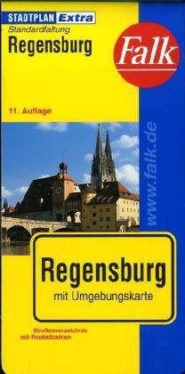 Regensburg Extra várostérkép - Falk