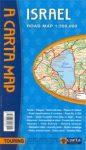 Izrael térkép - Carta