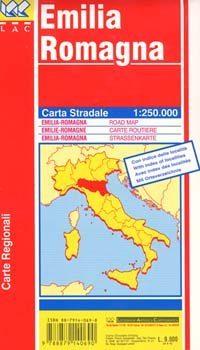 Emilia Romagna autótérkép - LAC