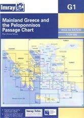 Mainland Greece and the Peloponnísos G1 - Imray